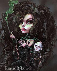 Gothic Drawings, Art Drawings, Drawing Faces, Arte Horror, Horror Art, Arte Lowbrow, Beautiful Dark Art, Harry Potter Artwork, Different Kinds Of Art