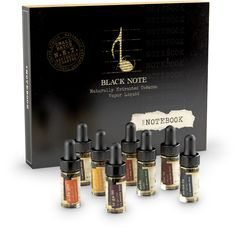 The vaping giraffe: Juice review: The Notebook by Black Note, Part 1