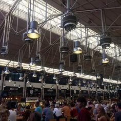 Mercado da Ribiera - a fabulous covered market for both fresh produce and restaurants in central Lisbon. Open every day from 10am. - Av. 24 de julho, 49 – Lisboa
