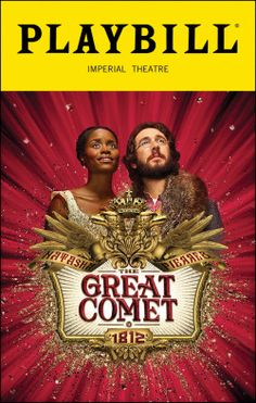 Natasha, Pierre and the Great Comet of 1812. Imperial Theatre. Opening Night, November, 2016.