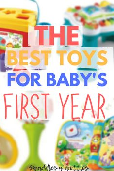 The best toys for baby& first year. Toys to help with development and exploring their senses. Perfect toy list for baby shower or baby registry. Toys to help work baby grow and learn! Budget Baby Shower, Baby Boy Shower, Baby Registry Items, Baby Items, Office Baby Showers, Before Baby, Baby Supplies, Babies First Year, Baby Development