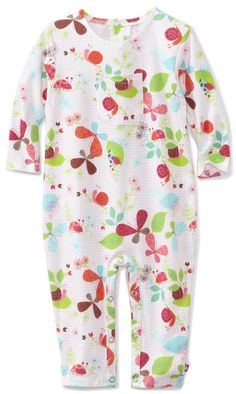 Zutano Baby-girls Infant Butterfly Coverall