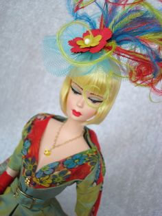Camille: Wide Eyed Girls - One-Of-A-Kind (OOAK) Fashion Dolls by Dan Lee