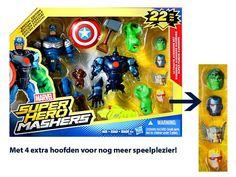 SPECIAL EDITION Marvel Super Hero Mashers Ultimate Avengers Set | Super Hero Mashers | MartSimo Toys