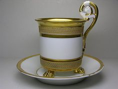 Old Paris cup and saucer