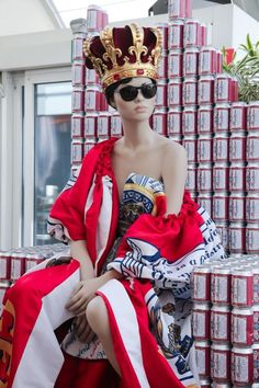 "MOSCHINO,at La Rinascente, Milan, Italy, ""When Food Meets Fashion"", pinned by Ton van der Veer"