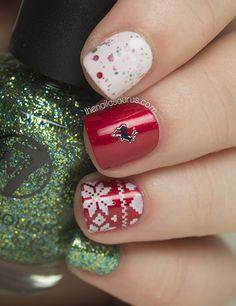 Christmas Nail Art - The Nailasaurus | UK Nail Art Blog