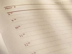 Anti-Procrastination Challenge: Thinking Ahead