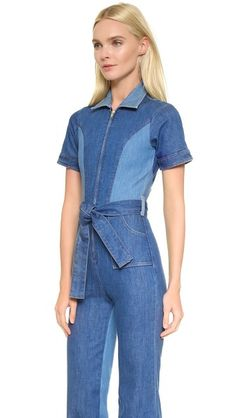 Stoned Immaculate Blue Jean Baby Jumpsuit Baby Jumpsuit, Jeans Jumpsuit, Overalls, Elephant Pants, Blue Jeans, What To Wear, Your Style, Dresses For Work, Skinny Jeans