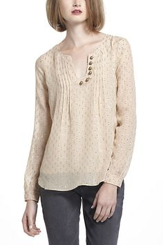 spun meteoroid blouse. way too expensive but I like the look of it :) Anthropologie