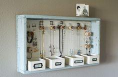 20 Pomysłów na przechowywanie Biżuterii w domu - zrób to sama!