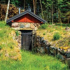 How to build a root cellar that fits your home and your needs to save money.