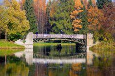 Pont des Cerfs - Pavlovsk - Construit en 1879 par Chikalev.