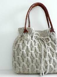 Afbeeldingsresultaat voor breisteken Knitting Projects, Crochet Projects, Knitting Patterns, Crochet Patterns, Free Knitting, Hand Knit Bag, Diy Sac, Crochet Purses, Crochet Handbags