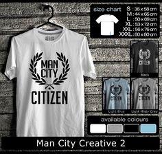 Kaos Manchester City FootBall Club | Kaos Guvnors dan Citizens 1