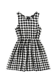 Kariertes Kleid (Kinder) - Kleider - 2000173739 - Forever 21 EU Deutsch