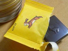 ロッテのチョコレート「シャルロッテ」