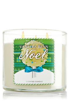 Vanilla Bean Noel 14.5 oz. 3-Wick Candle - Slatkin & Co. - Bath & Body Works