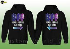 Bestfriend hoodies shoutoutbto my bff