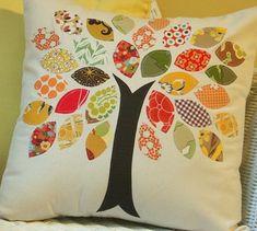 Fabric Scrap Pillow