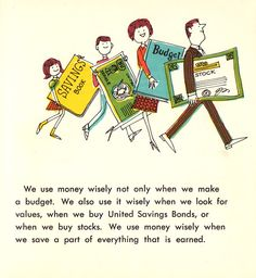 How People Earn and Use Money: Vibrant Vintage Illustrations from 1968 | Brain Pickings