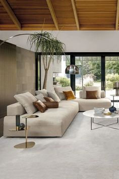 MONOPOLI sofa offers maximum freedom of combination and maximum seating comfort . MONOPOLI sofa offers maximum freedom of combination and maximum seating comfort . Cozy Small Living Room Decor Ideas For Your Apartment Cozy Living Rooms, Home Living Room, Interior Design Living Room, Living Room Designs, Living Room Decor, Design Room, Apartment Living, Beige Sofa Living Room, Interior Livingroom