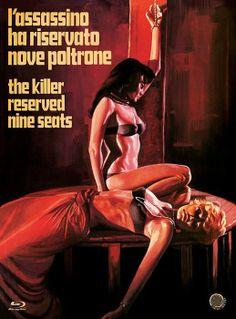 The Killer Reserved Nine Seats / L'assassino ha riservato nove poltrone (Camera Obscura Blu-ray)