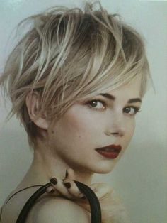 8.Tousled Pixie Cuts