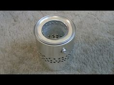"Homemade ""Gallon Can"" Wood Stove! - ""Tin Can"" Wood Stove - Easy DIY - YouTube"