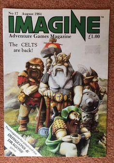 IMAGINE Magazine Issue 17 August 1984 TSR UK Dungeons & Dragons    eBay