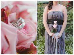 wedding | roses | rings | bridesmaid dress; Hazel Lining Photography, Bucks County PA | www.hazel-lining.com
