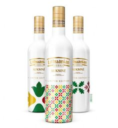 Lithuanian Vodka  - Limited Edition #packaging