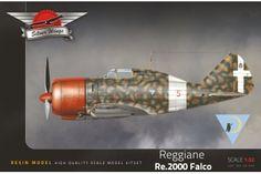 Reggiane Re.2000 Falco | Silver Wings