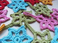 Crochet Star - Tutorial (Use Google Translator) ❥ 4U // hf