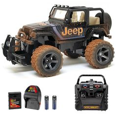 "New Bright 1:15 Scale Mud Slinger Radio Control - Jeep 2.4 GHZ -  New Bright Industries - Toys""R""Us"