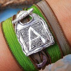 ANY letter, 14 colors. Just click pic. Coupon code PIN10 saves you 10% right now. #HappyGoLickyJewelry #handmade #etsyjewelry #sterlingsilver #silverjewelry #artisanjewelry #boho #bohemian #festivalstyle #bohochic #bohojewelry #bohostyle #bohofashion #sta