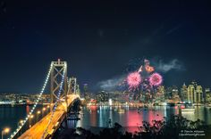 I Left My Heart in San Francisco - New Years 2012 by Darvin Atkeson, via 500px