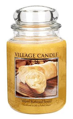 Village Candle Warm Buttered Bread 26 oz Glass Jar Scented Candle Large * Continue to the product at the image link.