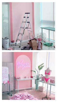 Beauty Room Decor, Beauty Salon Decor, Beauty Salon Design, Clothing Store Design, Nail Salon Decor, Lash Room, Boutique Decor, Business Inspiration, New Room