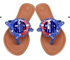 5693cbb42375 28 Best Monogrammable Sandals images