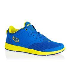 FOX Racing Mens Motion Select Shoes Royal Blue | eBay