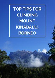 Tips for climbing Mount Kinabalu in Borneo