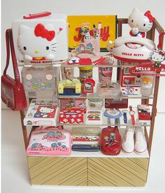 Vintage Sanrio products I love!!!!!