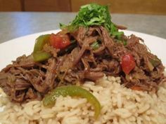 Ropa Vieja - using flank and a pressure cooker