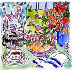 Fifi Flowers Painting du Jour Gallery
