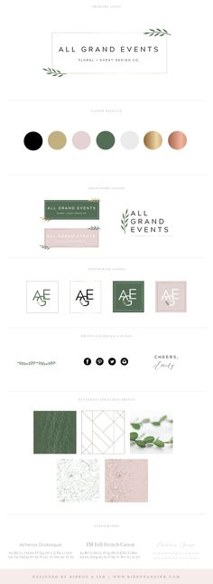 Branding for photographers #brand #brands #branding #logo #logos #design #webdesign #website #photographer #photography #event #planner #planning #wedding #blog #pretty #romantic #beautiful #font #inspiration #color / brand design / brand idea / color palette / web design / brand designer / brand inspiration