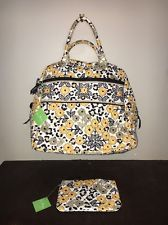 NWT Vera Bradley GO WILD Weekender Tote Overnight Travel Duffel and Cosmetic Bag