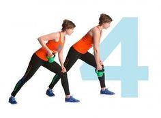 Kroppa timmiksi kahvakuulalla – kuuden liikkeen tehotreeni | Me Naiset Kettlebell, Feel Good, Health Fitness, Hair Beauty, Exercise, Running, Workout, Feelings, Sports