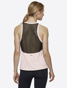 Pace Tank in Rose, $75 | Alala | Luxury Womens Activewear | Style meets Sport