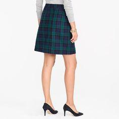 wool wrap skirt : factorywomen mini